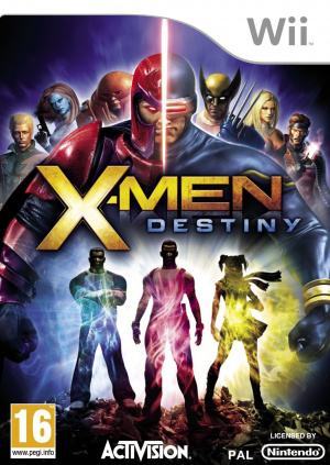 X-Men Destiny sur Wii