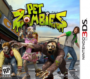 Pet Zombies sur 3DS
