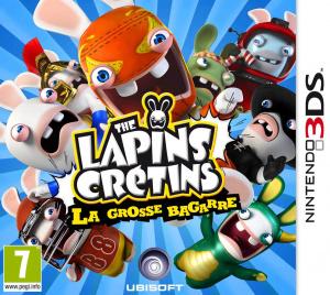 Les Lapins Crétins : La Grosse Bagarre sur 3DS