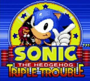 Sonic the Hedgehog : Triple Trouble