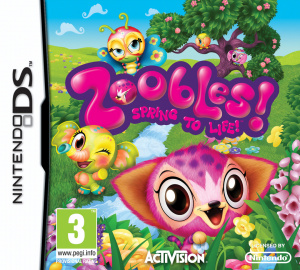 Zoobles : Spring to Life! sur DS