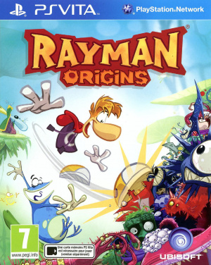 Rayman Origins sur Vita
