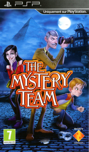 The Mystery Team sur PSP