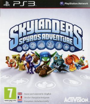 Skylanders : Spyro's Adventure sur PS3