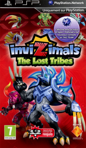 Invizimals : The Lost Tribes sur PSP