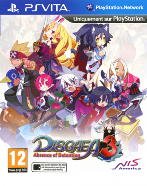 Disgaea 3 : Absence of Detention sur Vita