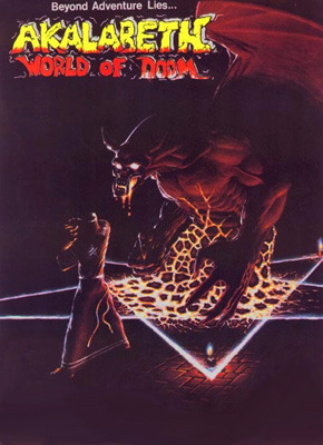 Akalabeth : World of Doom sur Apple 2