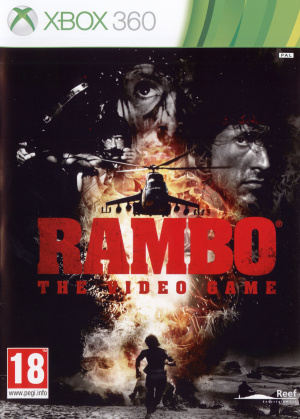 Rambo The Video Game sur 360