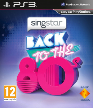 Singstar Back to the 80s sur PS3