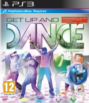 Get Up and Dance sur PS3