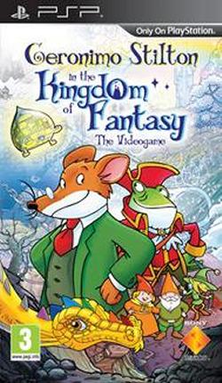 Geronimo Stilton : Le Royaume de la Fantaisie sur PSP