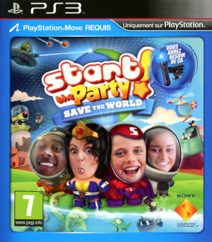 Start The Party ! Save the World sur PS3