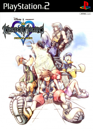 Kingdom Hearts Final Mix sur PS2