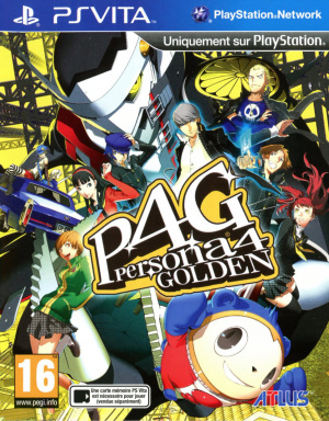Jaquette de Persona 4 : The Golden