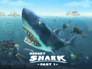 Hungry Shark - Part 1 sur iOS