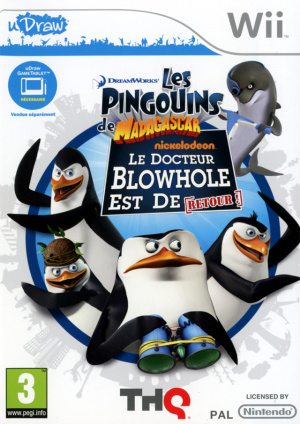Les Pingouins de Madagascar : Le Docteur Blowhole est de Retour sur Wii