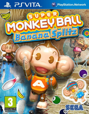 Super Monkey Ball : Banana Splitz sur Vita