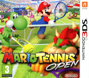 Mario Tennis Open [DECRYPTED]