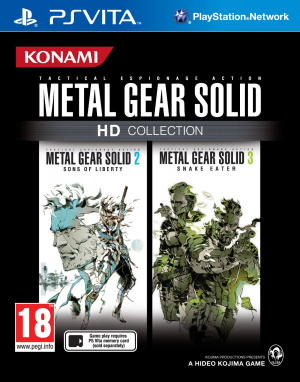 Metal Gear Solid HD Collection sur Vita