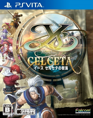 Ys : Memories of Celceta sur Vita