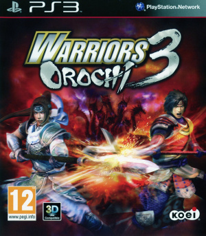 Warriors Orochi 3 sur PS3