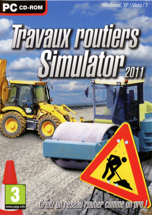 test du jeu travaux routiers simulator 2011 sur pc. Black Bedroom Furniture Sets. Home Design Ideas