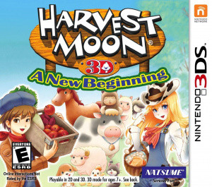 Harvest Moon 3D : A New Beginning sur 3DS