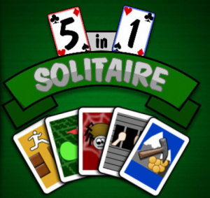5 in 1 Solitaire sur PS3