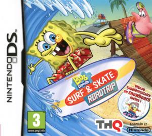 Bob L'Eponge : Surf & Skate Roadtrip sur DS