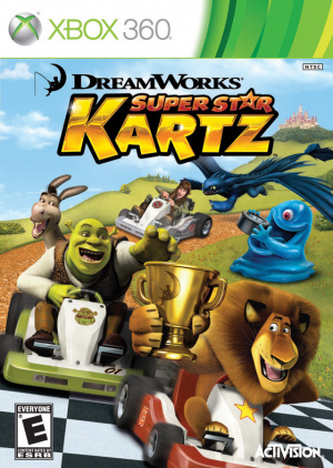 Dreamworks Super Star Kartz sur 360