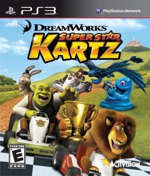 Dreamworks Super Star Kartz sur PS3