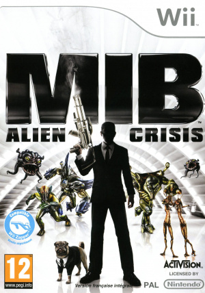 Men in Black : Alien Crisis sur Wii