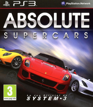 Absolute Supercars sur PS3
