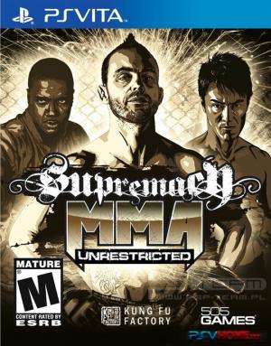 Supremacy MMA : Unrestricted sur Vita