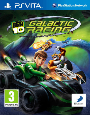 Ben 10 : Galactic Racing sur Vita