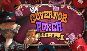 Governor of Poker Social sur Web