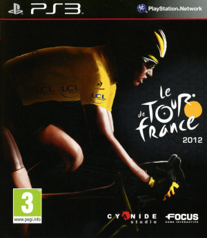 Le Tour de France 2012 sur PS3