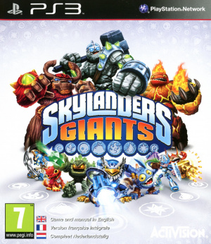 Skylanders Giants sur PS3