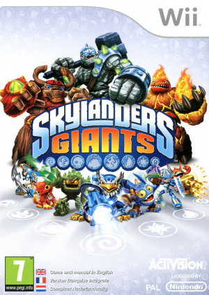 Skylanders Giants sur Wii
