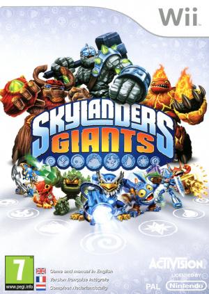 Skylanders Giants sur Wii