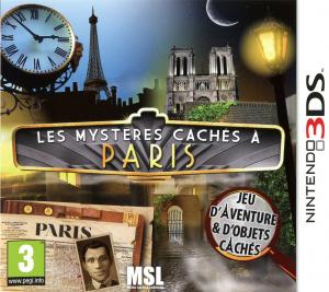 Les Mystères Cachés à Paris sur 3DS