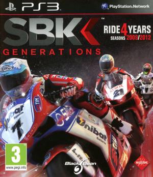 SBK Generations sur PS3