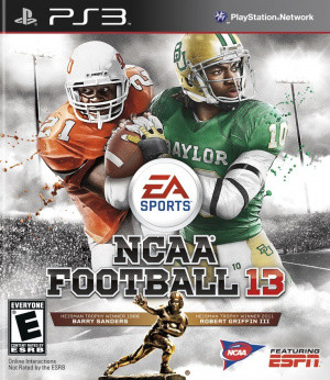 NCAA Football 13 sur PS3