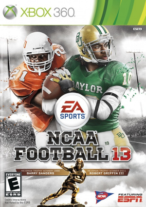 NCAA Football 13 sur 360