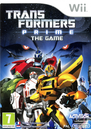 Transformers Prime : The Game sur Wii
