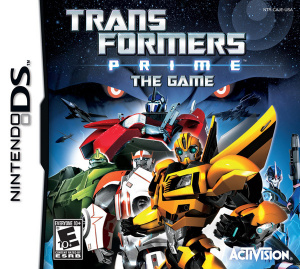 Transformers Prime : The Game sur DS