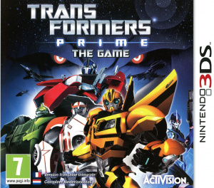 Transformers Prime : The Game sur 3DS