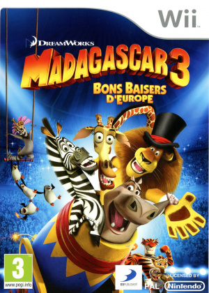 Madagascar 3 : Bons Baisers d'Europe sur Wii