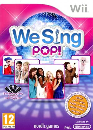 We Sing Pop ! sur Wii