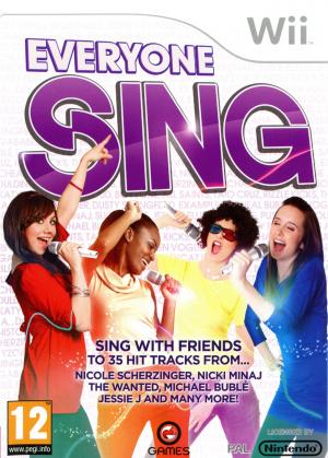Everyone Sing sur Wii